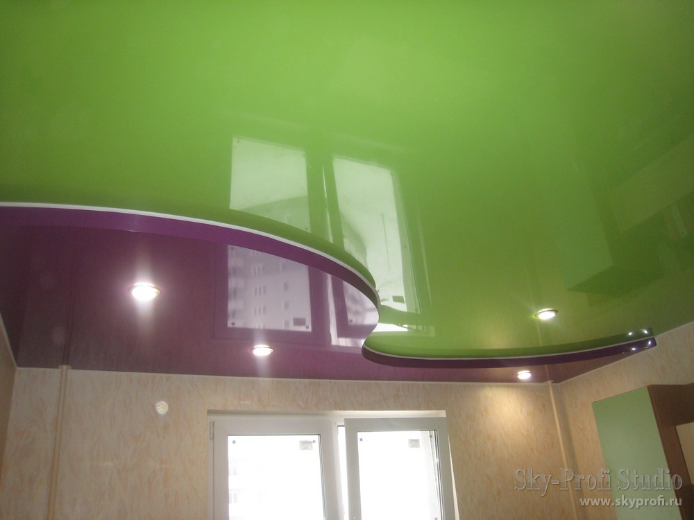 уровневые потолки фото натяжные потолки