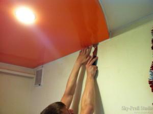 Натяжные потолки спб своими руками
