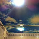 натяжной потолок в ванную СПБ
