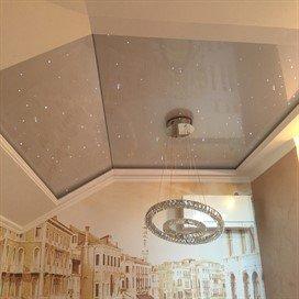 натяжные потолки в Калининском районе СПб