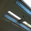 Натяжной потолок в оранжерее 1