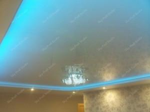 Последовательность монтажа точечных светильников в натяжной потолок