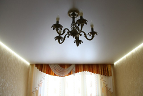 парящие натяжные потолки СПБ купить